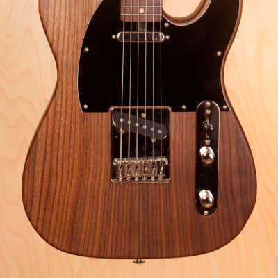 Strack Guitars Walnut tele 2018 handmade reclaimed