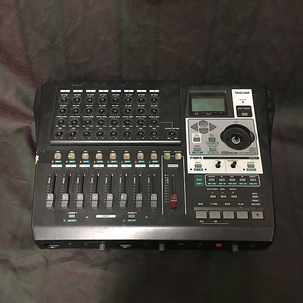Tascam DP-01FX/CD Parts Repair   Bookmans Musical Instruments   Reverb