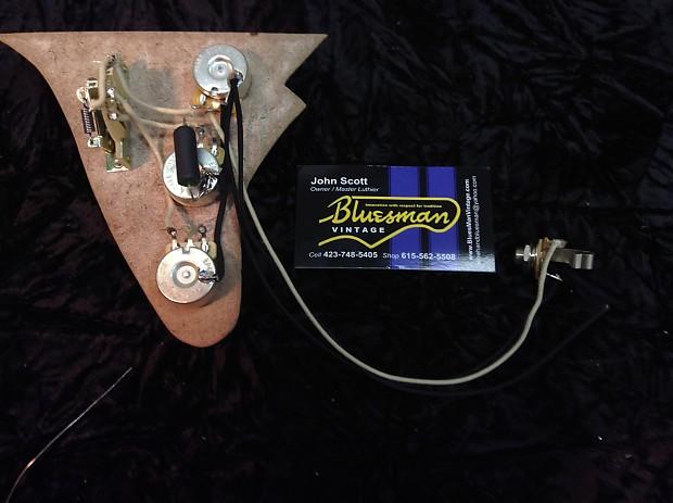 Bluesman Vintage Sedan Guitar Wiring Assembly Kit