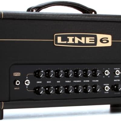 line 6 dt25 25w guitar head reverb. Black Bedroom Furniture Sets. Home Design Ideas