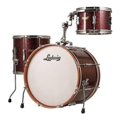 "Ludwig LR320DX Club Date SE Downbeat 8x12 / 14x14 / 14x20"" 3pc Shell Pack"