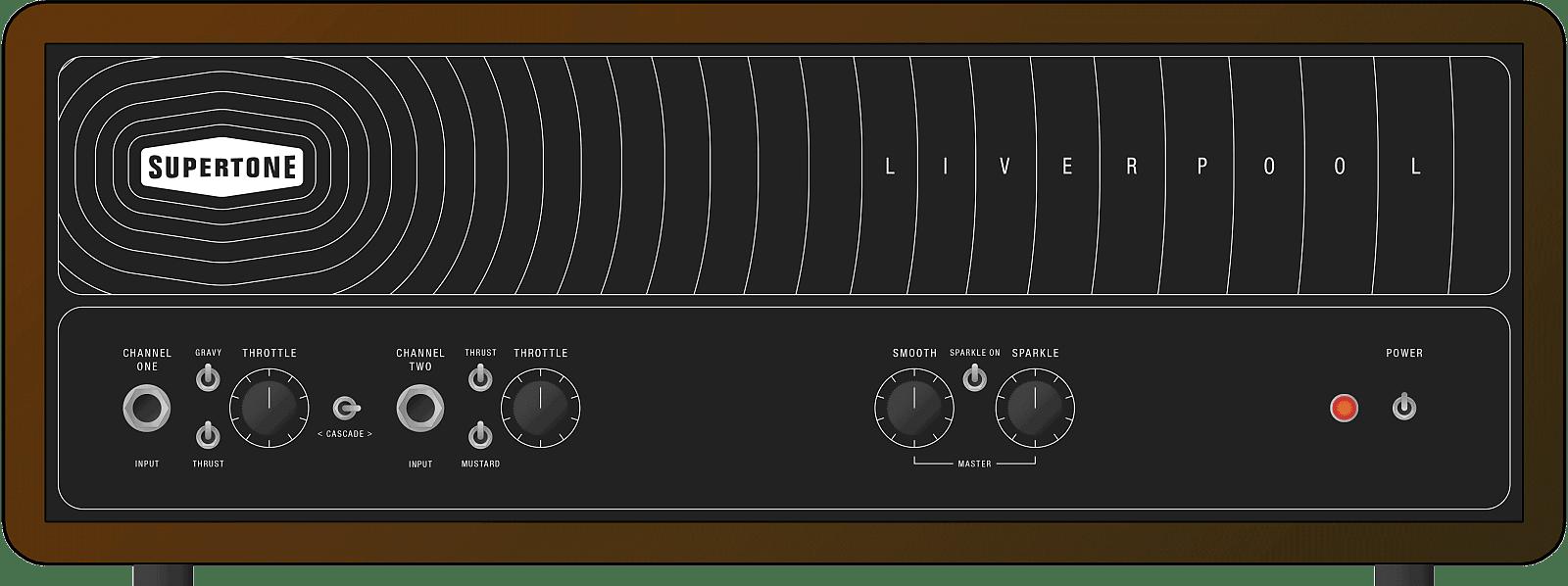 Supertone 'Liverpool' Guitar Amplifier - 36W / Black Tolex