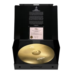 """Zildjian ACP25 23"""" New Limited Edition 23"""" Anniversary Ride Cymbal #745 / 1000"""