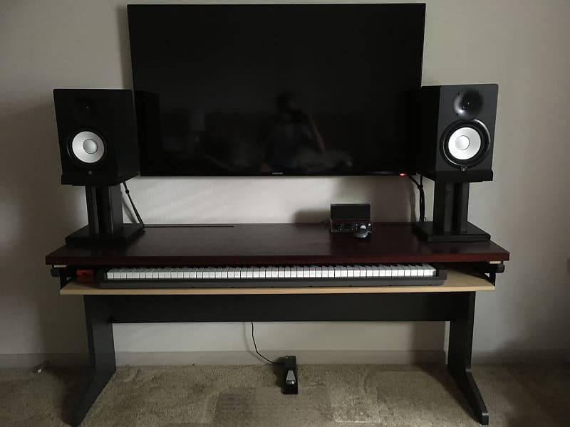 Betere Home Studio Desk w/88-key MIDI controller drawer, 2018   Reverb CK-74