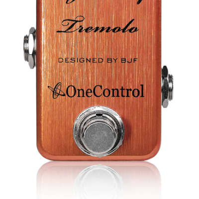 One Control Tiger Lily Tremelo Pedal for sale
