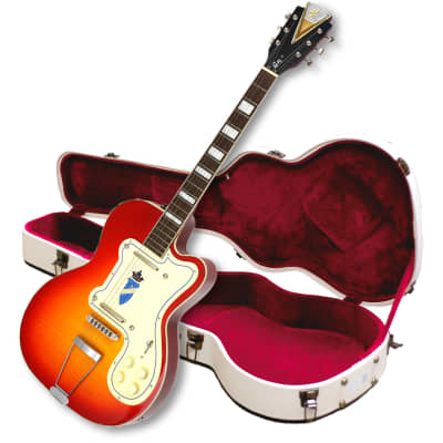 """Kay """"Limited Production"""" K161VCS Reissue Thin Twin Electric Guitar-FREE $60 Shipping & $200 Case!"""