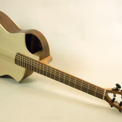 Kopo Sassandra nylon 2019 Satin - luthier made electro acoustic (9v or 48v phantom) for sale