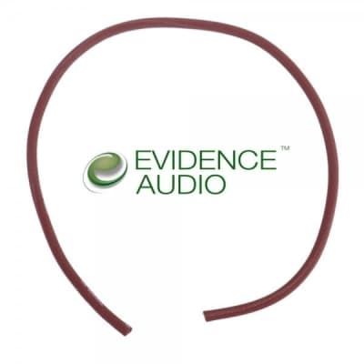 Evidence Audio The Monorail Signal Cable Burgundy 10 ft