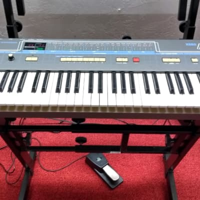 Used Vintage Korg Poly 61 analog Synthesizer