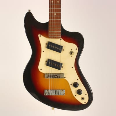 Murph Califone 6/12 String Guitar RARE Sunburst for sale