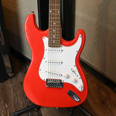 (9082) Mahar Sparkle Strat-Style Electric Guitar for sale