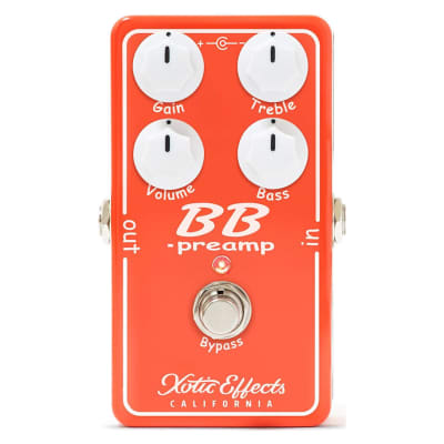 Xotic BB Preamp V1.5 Effects Pedal