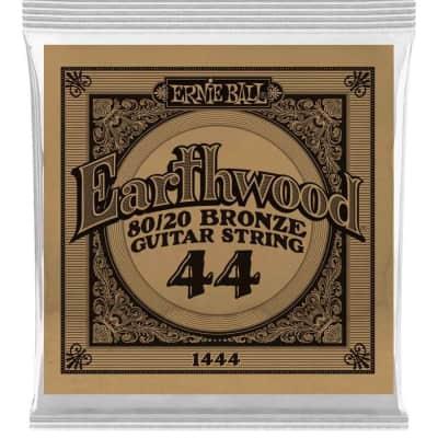 Ernie Ball P01444 .044 Earthwood 80/20 Bronze Acoustic Guitar String