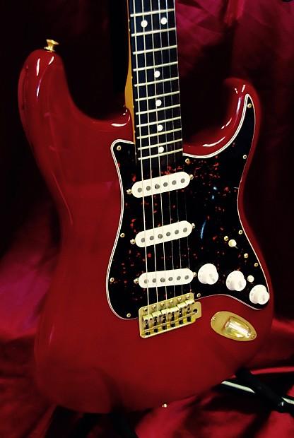 Auto Parts Shop >> Vintage 1997 MIM Fender Stratocaster Deluxe | Reverb
