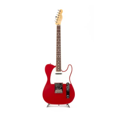 2014 Fender Limited Edition American Standard Telecaster Channel Bound Dakota Red US14085002 for sale