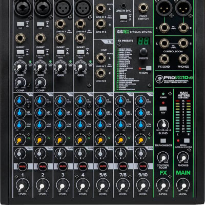 Mackie ProFX10v3 10-Channel Professional Effects Mixer w/ USB -Mint-In-Box- -Fast & Free Shipping!