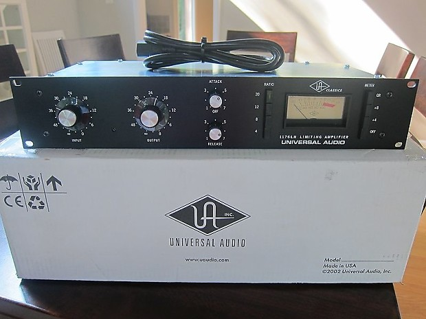 Universal Audio 1176 SA Black | Bill's Gear Locker