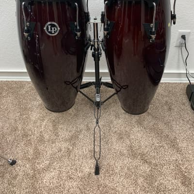 """Used Latin Percussion Aspire Series 10/11"""" Conga Set with Stand"""