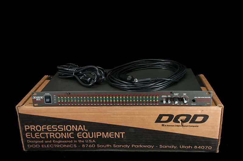 DOD SR RTA Realtime Audio Analyzer w/Mic and Power Cable