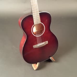 Recording King RO-T16-BRB Torrefied Red Spruce Top 000 Brown Burst