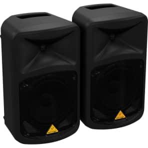 "Behringer EPS500MP3 500W 8-Ch 8"" PA Speaker System"