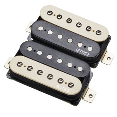 EMG Retro Active Super 77 Electric Guitar Pickup Set Zebra