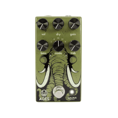 Walrus Audio Ages Five-State Overdrive Electric Guitar Effects Pedal