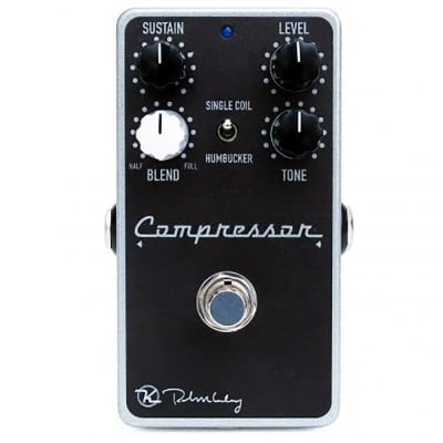 Keeley Compressor Plus Compression Guitar Bass True Bypass Effect Pedal Stompbox