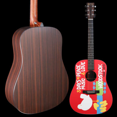 Martin Deluxe Woodstock 50th Anniversary 027 5lbs 1.7oz for sale