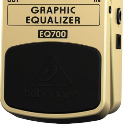 Behringer Ultimate 7-Band Graphic Equalizer Pedal for sale
