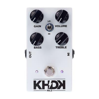 KHDK NO2 - Version 2 Clean Boost Guitar Effect Pedal Kirk Hammett