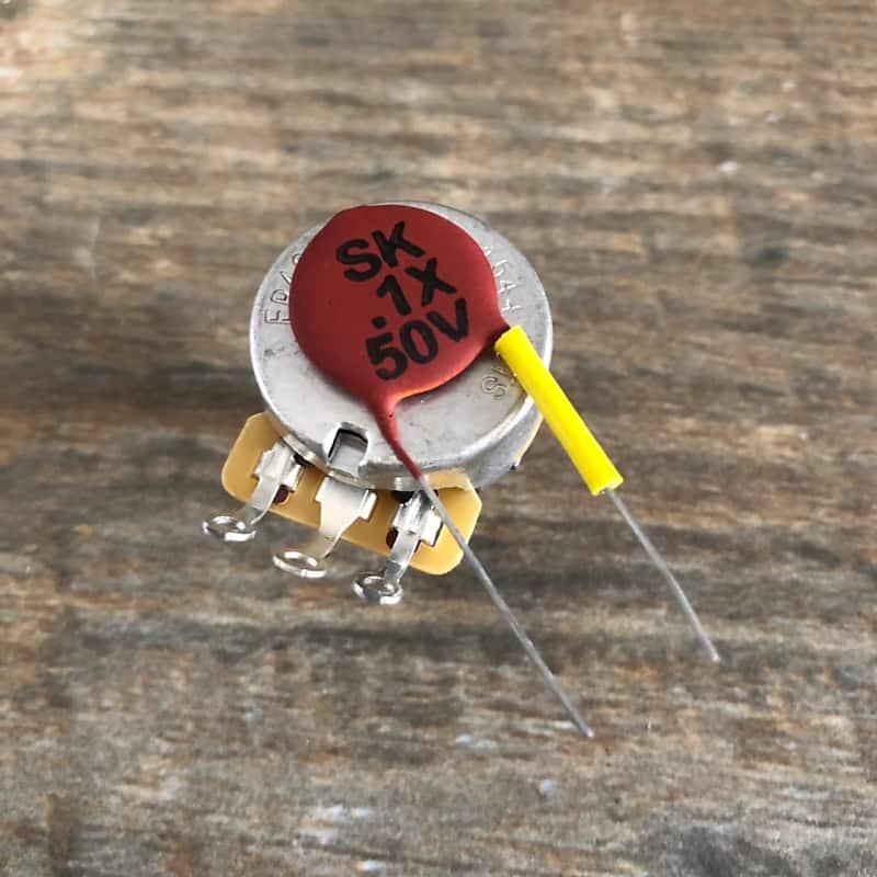 5x años mica Strat Glimmer-condensador 68 PF Tone capacitor 1960s nos
