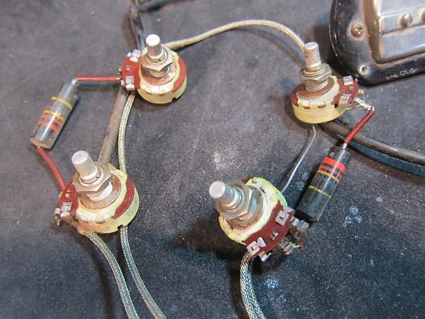 Harmony H62 Wiring Harness 1950s | Kingston Guitar Shop on