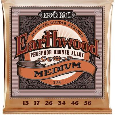 Ernie Ball Earthwood Medium Phosphor Bronze Acoustic Strings 2144