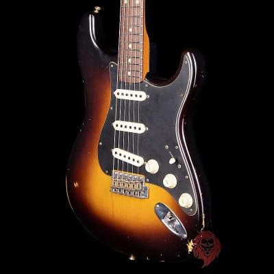 Fender Custom Shop Limited Edition Roasted Poblano Stratocaster Relic Wide Fade 2-Tone Sunburst