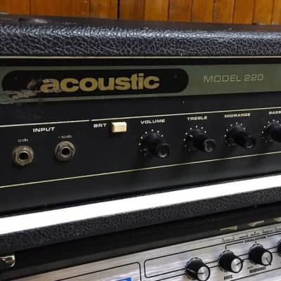 Acoustic Acoustic Model 220 for sale