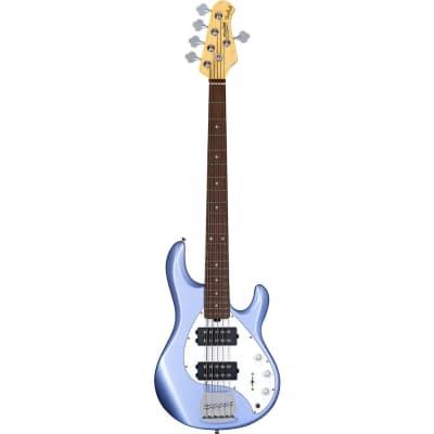 Sterling by Music Man S.U.B. StingRay Ray5HH 5-string Bass - Lake Blue Metallic