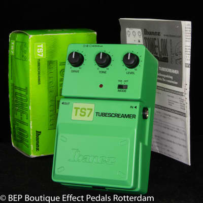 Ibanez TS7C Tube Screamer 25th Anniversary Limited Edition Tone-lok Series s/n 01202293