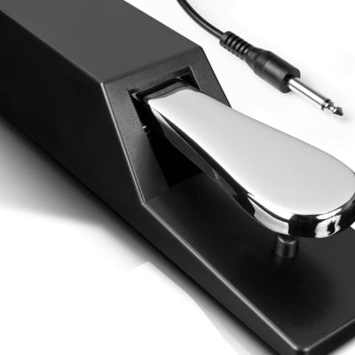 """Alesis ASP2 Piano/Keyboard Sustain Pedal with 1/4"""" connector"""