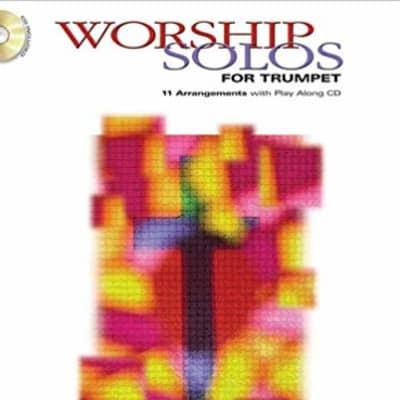 Worship Solos w/CD Trumpet