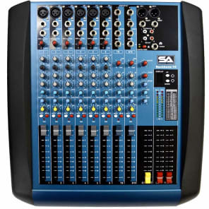 Seismic Audio Backbone10 Compact 10-Channel Mixer w/ Effects