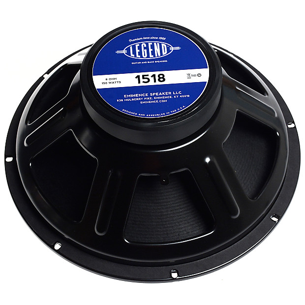 eminence legend 1518 150w 8 ohm guitar speaker reverb. Black Bedroom Furniture Sets. Home Design Ideas