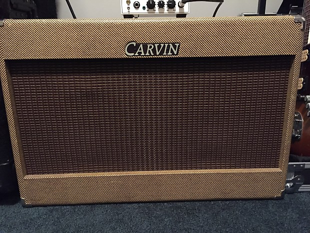 Carvin 2x12 Cabinet Carvin | Reverb