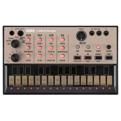 Korg Volca Keys Analogue Lead Synthesizer & Sequencer
