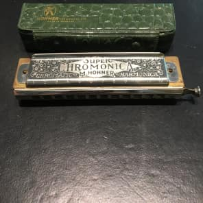 Hohner 270BX-C Super Chromonica Harmonica - Key of C