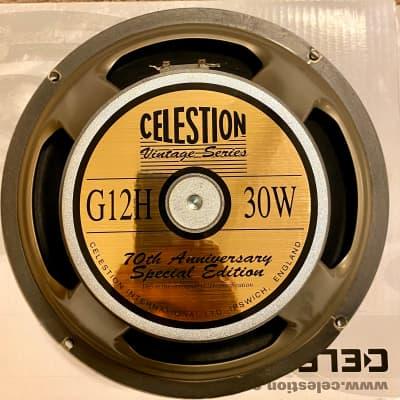 "Celestion T4533 70th Anniversary G12H 12"" 30-Watt 8 Ohm Replacement Speaker"