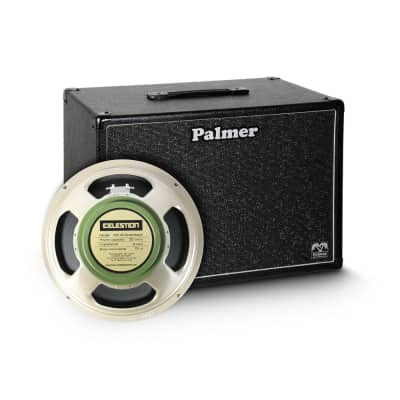 PALMER Palmer MI CAB 112 GBK - Gitarrenbox 1 x 12'' mit Celestion G 12 M Greenback 8 Ohm for sale