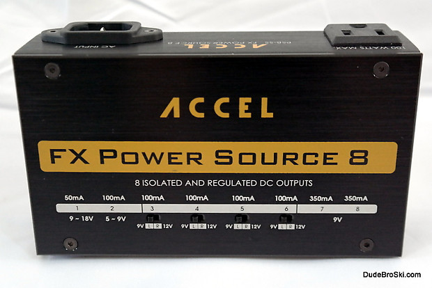 accel fx power source 8 isolated regulated power reverb. Black Bedroom Furniture Sets. Home Design Ideas