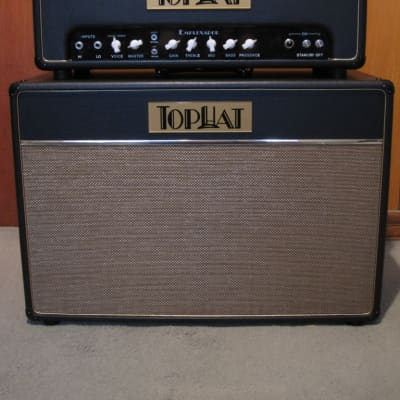 TopHat Emplexador 50w (240v) + matching 2x12 CAB Black for sale