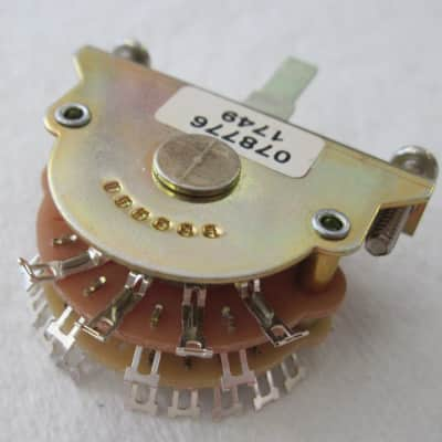 Fender 007-8776-000 American Stratocaster 5-Way Discrete Blade Selector Switch